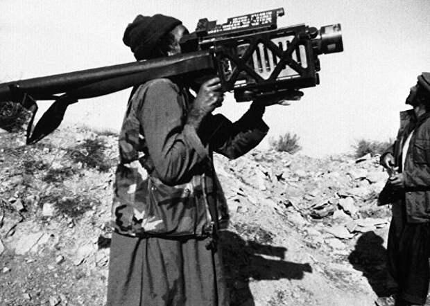 Каким новейшим иностранным оружием снабжали афганских душманов