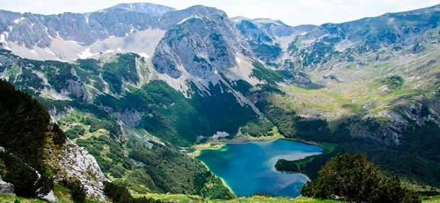 На просторах Сутьеска есть 8 ледниковых озер, известных своими «горными глазами»