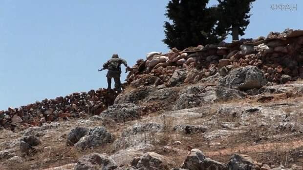 Как сирийские военные удерживают позиции в Идлибе: репортаж ФАН