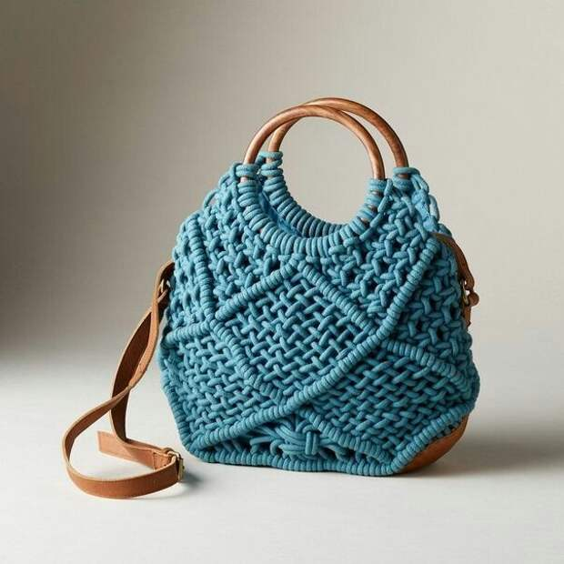 Макраме сумки (подборка)