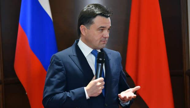 Воробьев вошел в топ‑3 рейтинга глав регионов РФ по упоминаемости в соцмедиа в мае