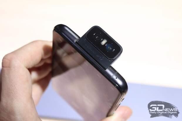 Флагман ASUS ZenFone 6 с камерой-перевёртышем официально анонсирован
