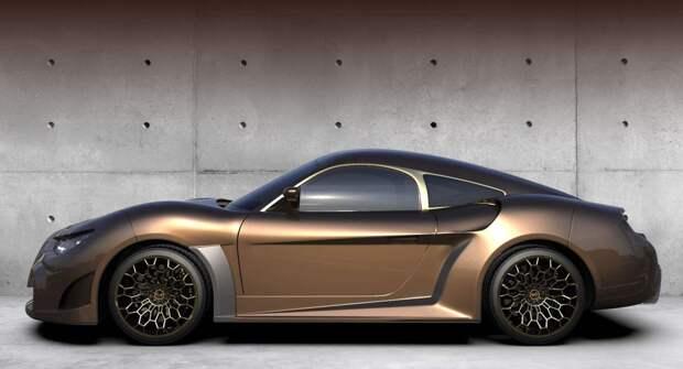 Компания EV Electra представила спортивное купе Quds Rise