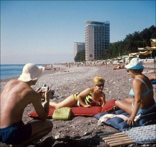 А вы помните как отдыхали во времена СССР?