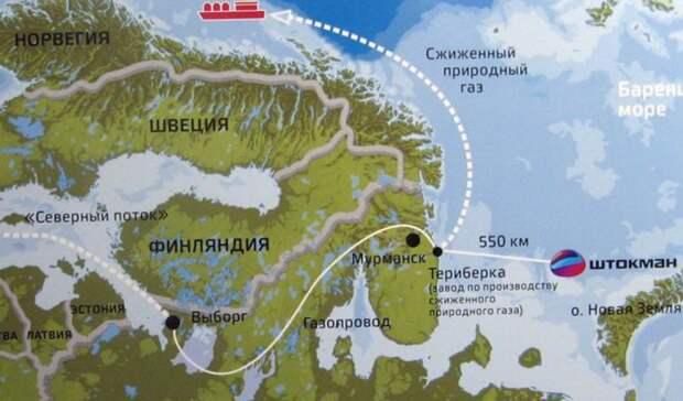 «Газпром» неотказывается отШтомановского месторождения ради природного парка