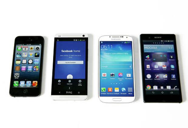Краткий обзор ситуации на рынке смартфонов