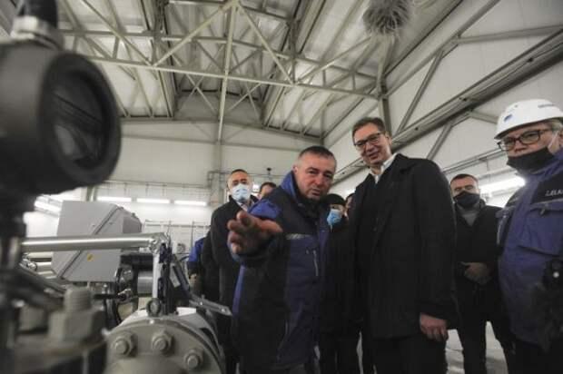 Сербия полностью перешла на«Турецкий поток»