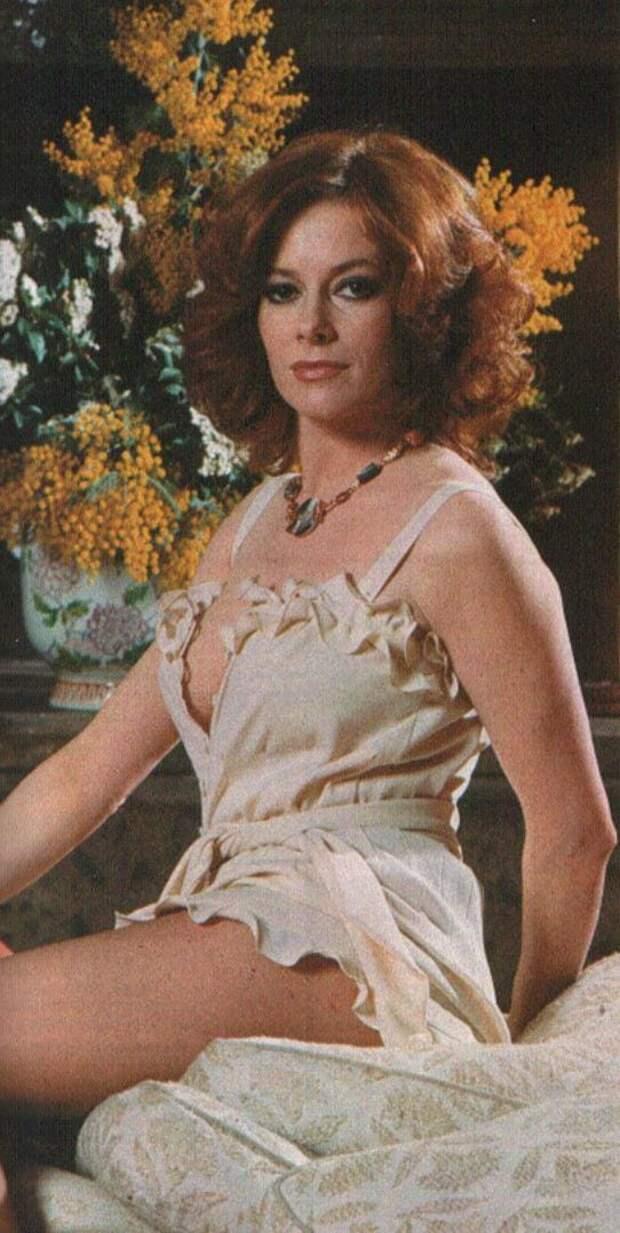 Красотка из приключенческих фильмов 60-х Лучана Палуцци