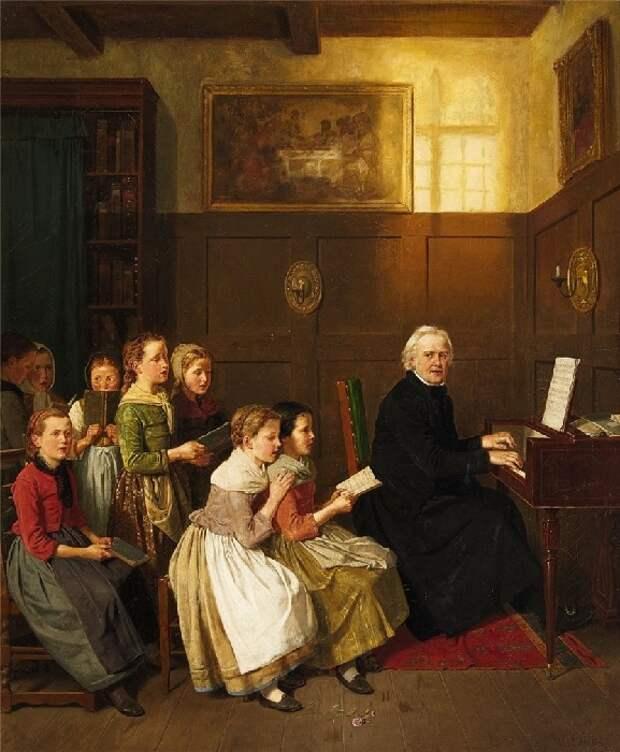 Как учили детей в школе 200 лет тому назад: Учителя и ученики на полотнах старых мастеров
