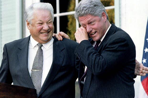 Речь предателя: Рассекречена присяга Ельцина в конгрессе США.