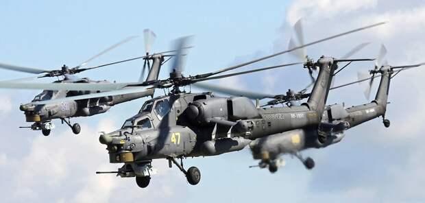 Новейший российский двигатель ВК-2500П проходит летные испытания на вертолете Ми-28НМ