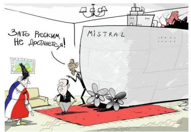 За «Мистралями» Франция может потерять контракт на поставку «Рафалей»  врагов!, наших, привет санкциям!, проблемы, так держать!