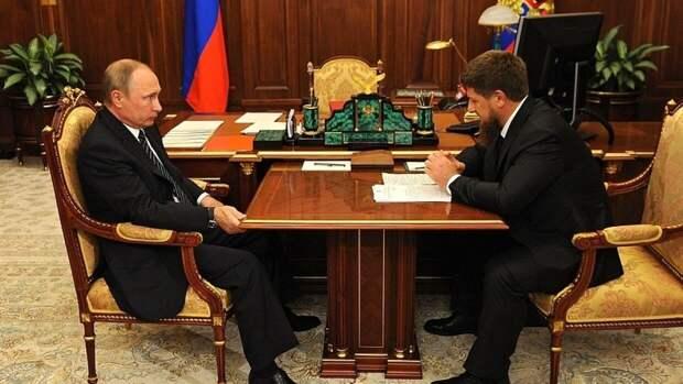 Путин пожелал Кадырову успехов в предстоящих выборах главы Чечни