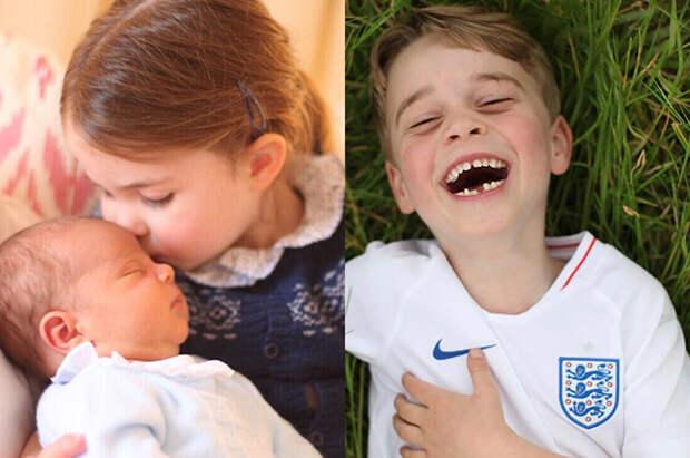 Мама может: самые забавные и трогательные снимки детей герцогов Кембриджских авторства Кейт Миддлтон