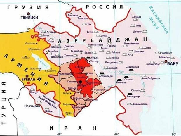 Прорыв блокады Карабаха
