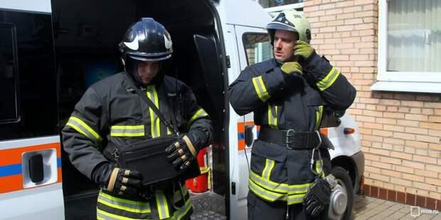 Из многоэтажки в Марьиной роще спасли пять человек