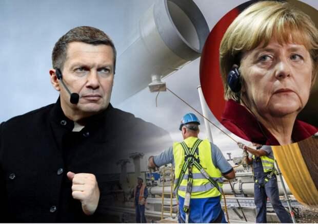 """Санкции против """"Северного потока-2"""" угробят Германию"""