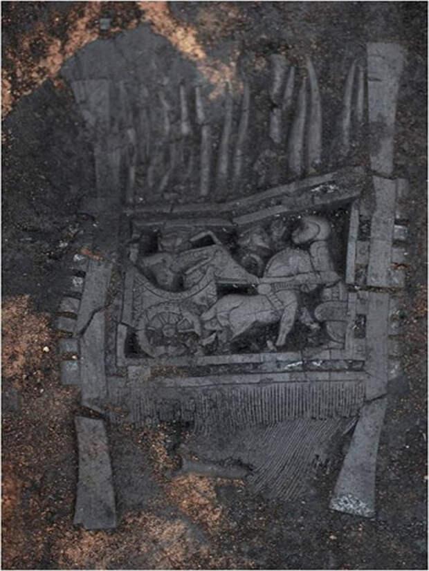 Новости Уральск - Уральские археологи рассказали о захоронении Золотой женщины (фото) Таксайский гребень