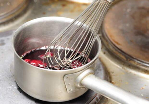 рецепт c фото соус вишневый шаг 3