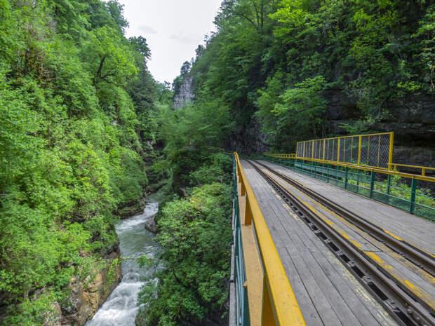 Ж/д мост через Сухую балку.