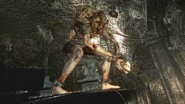 Первая встреча с Лизой Тревор – Resident Evil 1