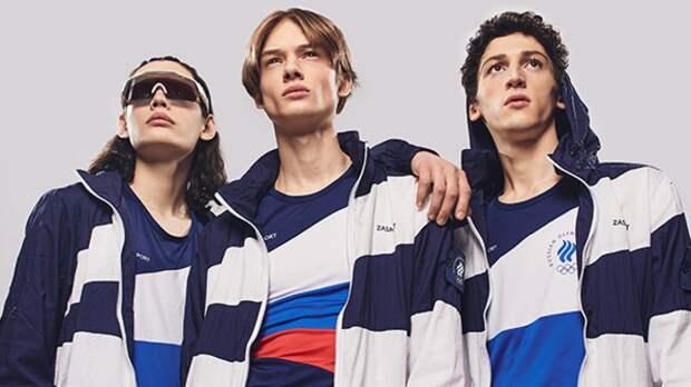 Британский журналист раскритиковал расцветку новой формы российских олимпийцев