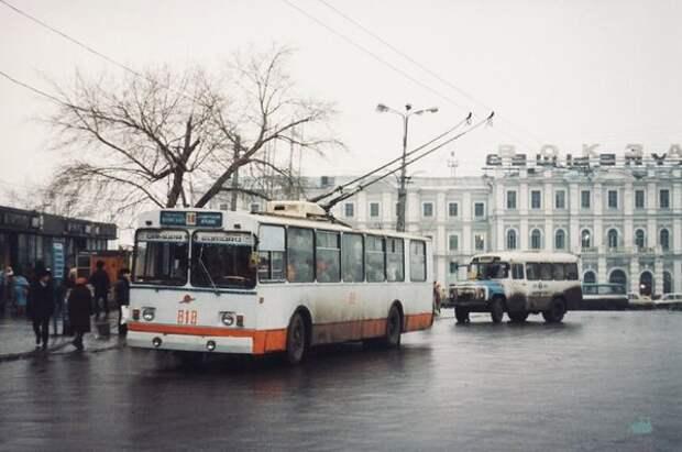 Самара, Привокзальная площадь, 1998 год