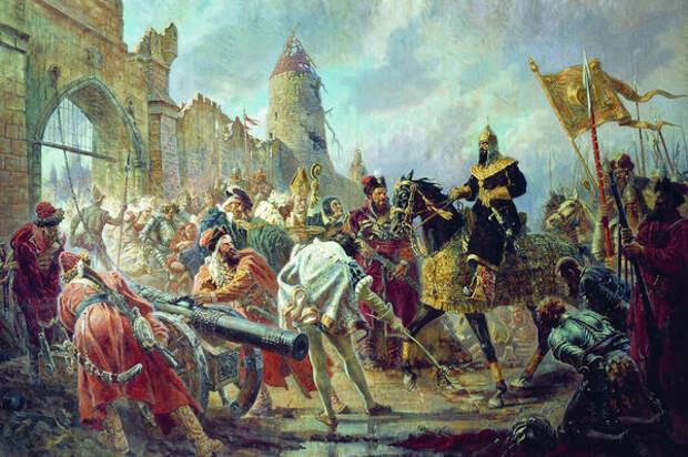 Взятие Полоцка 1563 год