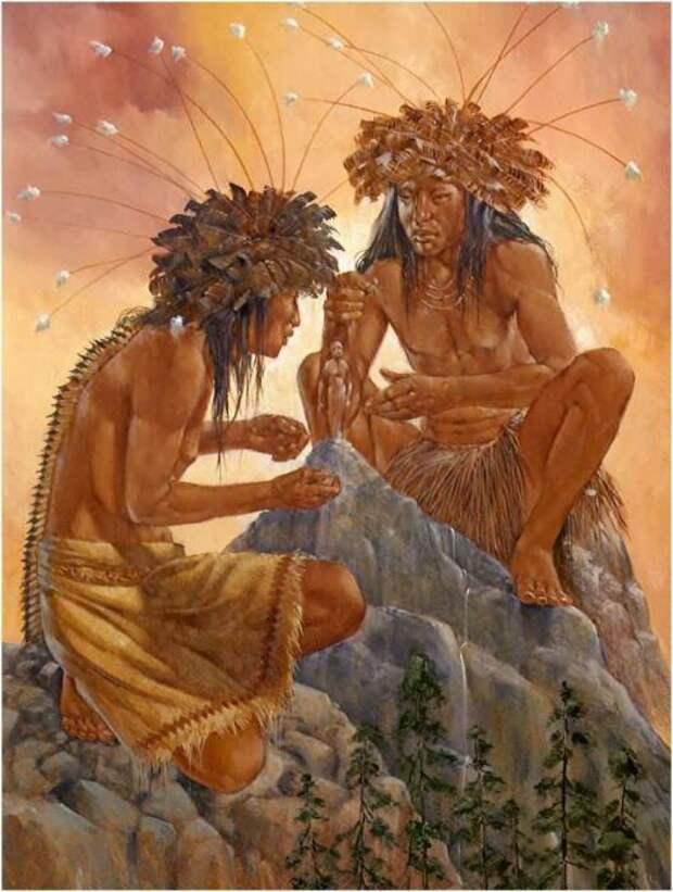 греческий миф о происхождении человека