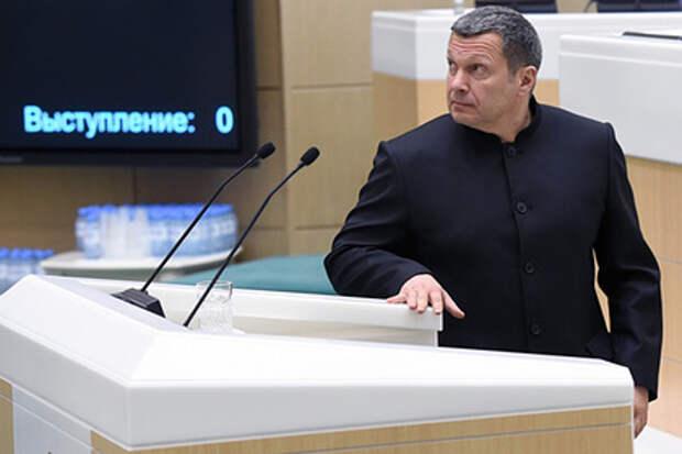 Соловьев высказался о ситуации с Навальным