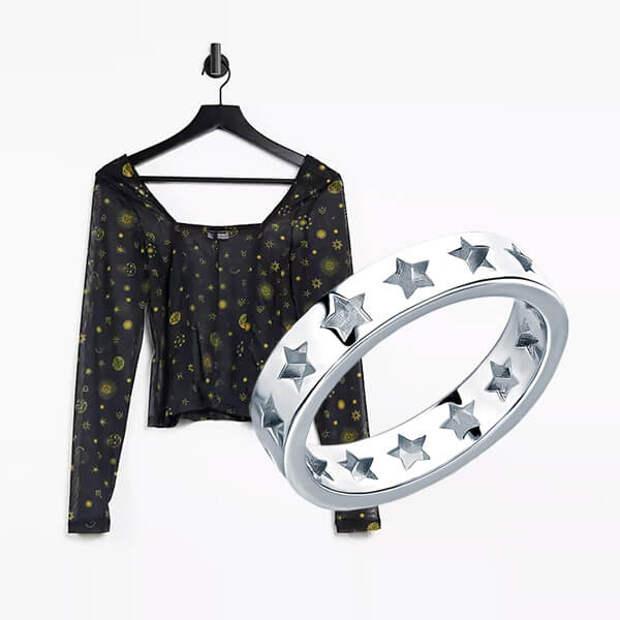 Актуальная одежда и аксессуары в космической тематике
