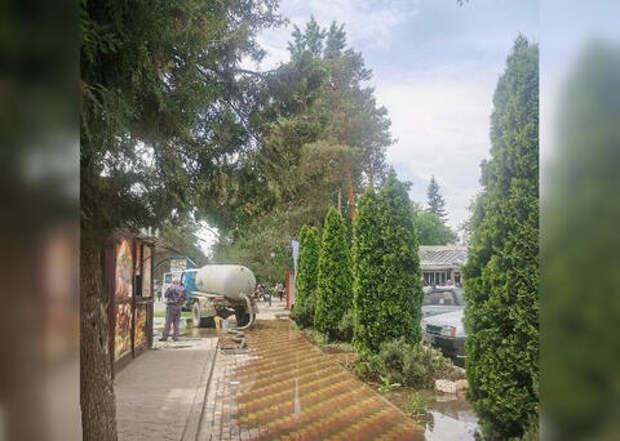 Жители Горячего ключа остались без воды