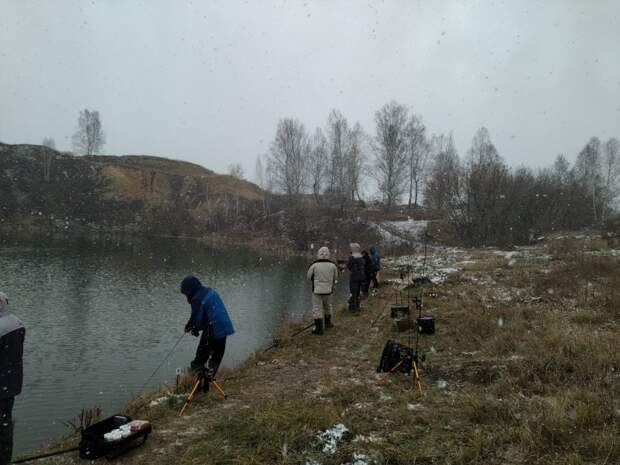 Форелевые баталии в Новосибирских реалиях