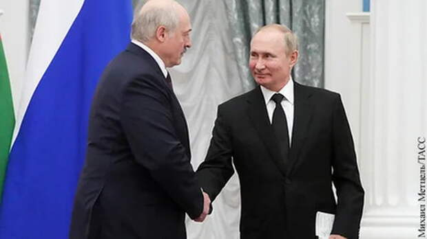 Путин и Лукашенко объявили о старте экономической интеграции двух стран