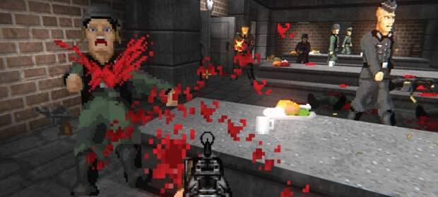 Новый трейлер и дата релиза фанатского сиквела Wolfenstein 3D