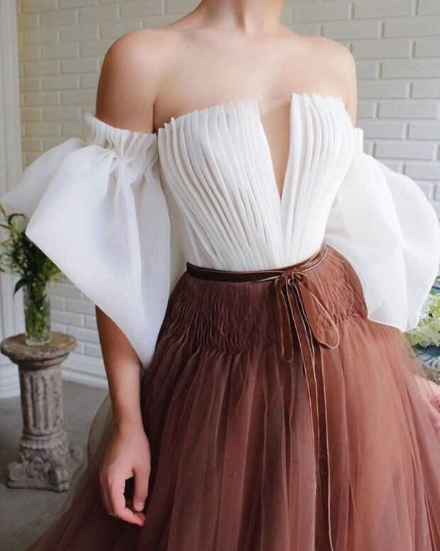 Просто сказочные, шикарные платья турецкого дизайнера  Teuta Matoshi Duriqi  😍 Как вам?