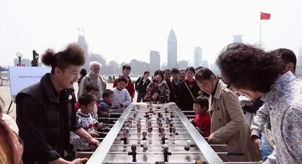 Китайцы сыграли в политическую игру