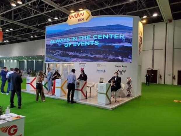 Международный аэропорт Сочи принимает участие в выставке в Дубае