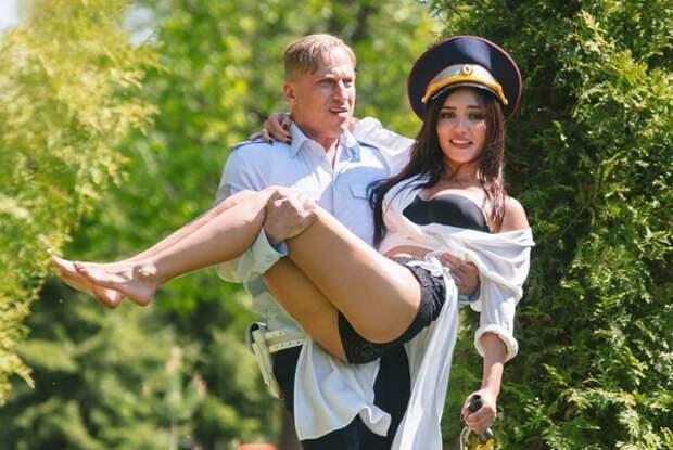 Дмитрий Нагиев и Ольга Серябкина