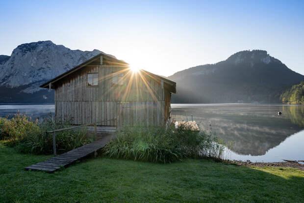 Die Hütte am See by Michael Sroka on 500px.com