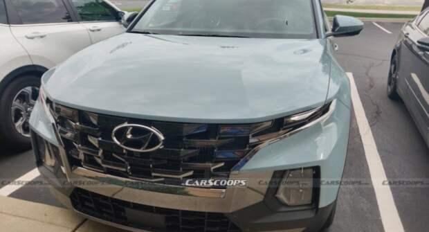 Новый пикап Hyundai Santa Cruz 2022 года замечен в Индиане