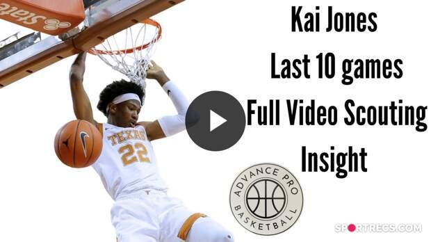 Kai Jones - Video Scouting Insight