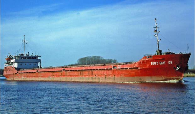 У берегов Румынии затонуло судно, следовавшее из Ростова-на-Дону