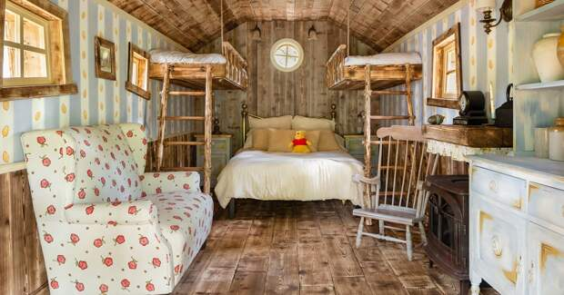 Airbnb приглашает гостей отдохнуть в доме Винни-Пуха