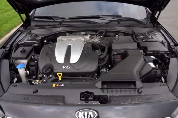 KIA К7: есть ли смысл в заводском газе?. KIA Cadenza