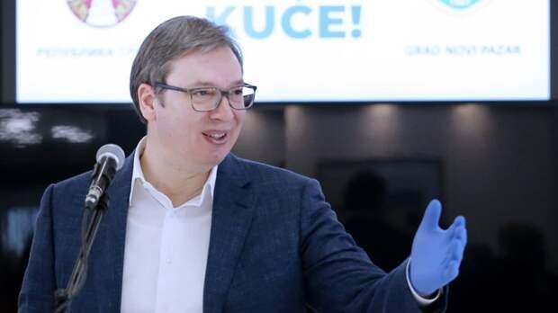 Александр Вучич заявил, что Евросоюз устал от расширения