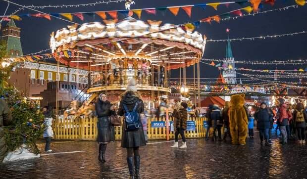 Народные гуляния на Новый год в Москве официально отменены