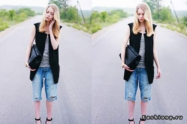 Жакет без рукавов, он же удлиненный жилет (100 образов)