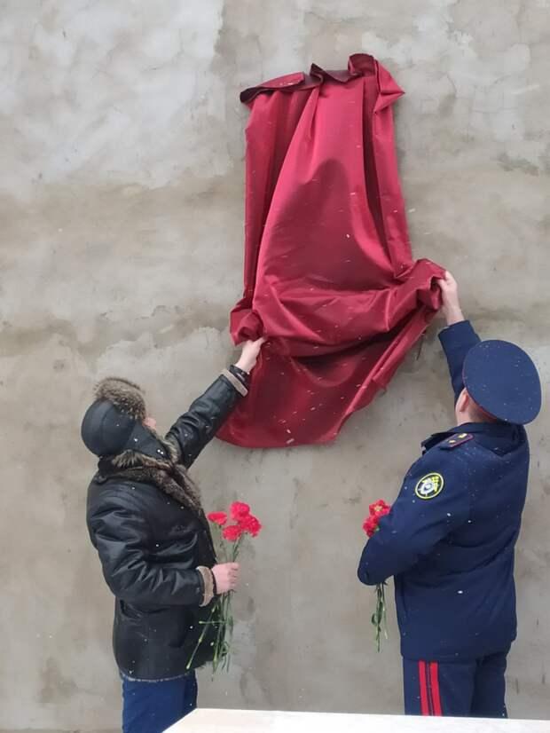 В Удмуртии установили доску памяти юному Андрею Касимову, защищавшему свою сестру от педофила