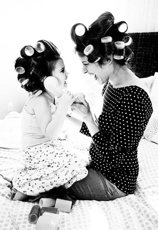 мамы и дочки фото (5)